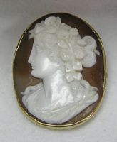 This type of jewelry was very popular in the 1800s. It was sometimes mirrored after people of importance.