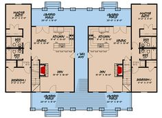 Modern Farmhouse Duplex House Plan Plan Charming Modern Farmhouse Duplex House PlanPlan Charming Modern Farmhouse Duplex House Plan Upscale Duplex with Flex Room - Beach House Plans, Family House Plans, Cottage House Plans, Craftsman House Plans, Country House Plans, Dream House Plans, Small House Plans, Duplex Floor Plans, House Floor Plans