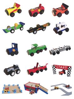 Making cars out of cardboard rolls - DIY Paper Roll Cars Source by Cardboard Rolls, Cardboard Crafts, Projects For Kids, Diy For Kids, Crafts For Kids, Toilet Paper Roll Crafts, Diy Paper, Transportation Crafts, Kids And Parenting
