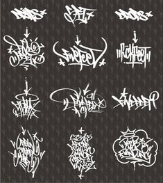 DeviantArt is the world's largest online social communit… – Graffiti World Tattoo Lettering Styles, Graffiti Lettering Fonts, Graffiti Writing, Graffiti Tagging, Hand Lettering, Graffiti Piece, Graffiti Wall Art, Graffiti Alphabet, Street Art Graffiti