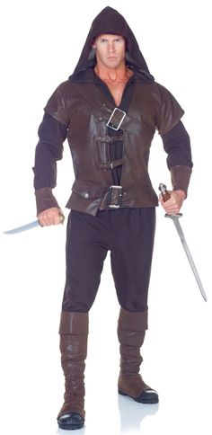 trajes medievales | Home >> Medieval Costumes >> Medieval Assassin Adult Costume