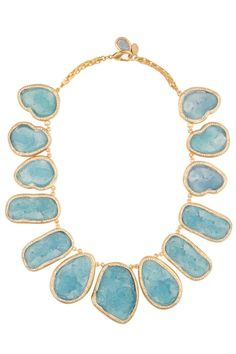 Kara Ross Raw Resin Necklace