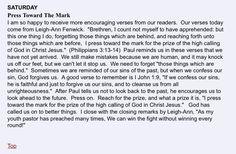 Press Toward the Mark Recipes for Life devotions.homestead.com