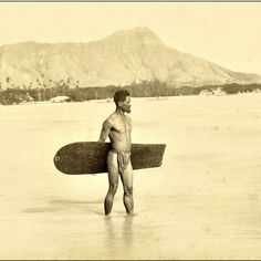 waterinthemouth: surfer, 1890