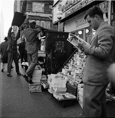 Newstand, 1947.  14 Photos Of Stanley Kubrick's New York City, Circa The 1940s: Gothamist