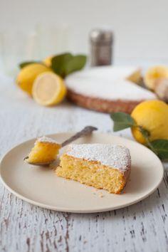 ... lemon cake (gluten-free) ...