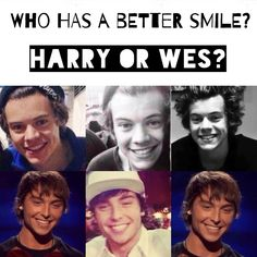 Repin for Harry. Comment for Wes. Like for both.>>>> Always my master.>>>>>>>HARRY❤️❤️>>>>>HARRY!!!>>>>Harry... No doubt :p xx>> hazza!!!>>Harry!!!!!