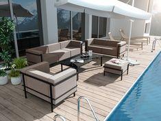Zestaw nowoczesnym mebli ogrodowych IBIZA to perfekcyjna propozycja dla osób, które cenią sobie funkcjonalność, elegancję i ponadczasowość. Jego uniwersalny i nowoczesny design będzie znakomitą dekoracją ogrodu, tarasu, patio, restauracji a nawet wnętrz mieszkalnych bądź biurowych. Outdoor Furniture Sets, Outdoor Decor, Ibiza, Patio, Home Decor, Design, Decoration Home, Room Decor