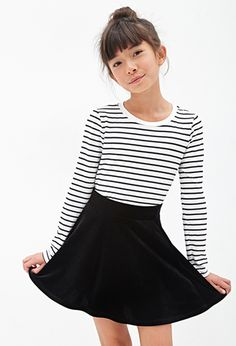 Skirt Outfits For Teens Forever 21 59 Ideas For 2019 Preteen Fashion, Fashion Kids, Fashion Fashion, High Fashion, Ootd, Skirt Fashion, Fashion Outfits, Forever 21 Girls, Forever 21 Fashion