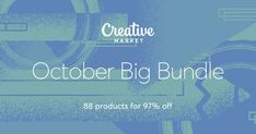 Graphic Design - Graphic Design Ideas  - Check out October Big Bundle on Creative Market   Graphic Design Ideas :     – Picture :     – Description  Check out October Big Bundle on Creative Market  -Read More –