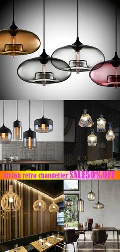 Design chandeliers suitable for all occasions such as living room, bedroom, dining room, etc., to add temperature and color to your interior, now the special offer, come and see! Pendant Lighting Bedroom, Diy Pendant Light, Kitchen Pendant Lighting, Modern Chandelier, Pendant Lights, Modern Farmhouse Lighting, Farmhouse Light Fixtures, Modern Farmhouse Style, Modern Lighting