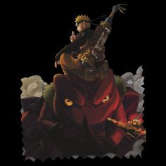 Naruto and the Toad boss