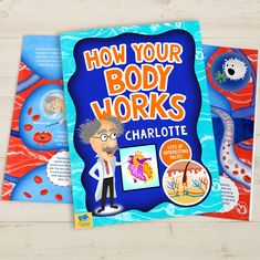 How Your Body Works Personalised Book - How Your Body Works - Hardback