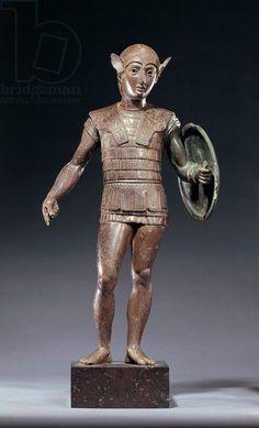 Stutuetta in bronzo, Lago degli Idoli, Monte Falterona, V secolo a.C.