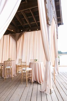 Elegant outdoor Charleston reception: http://www.stylemepretty.com/vault/gallery/37875 | Photography: Dana Cubbage - http://danacubbageweddings.com/