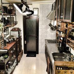 大改造キッチン/キッチン/NYスタイル/海外インテリアに憧れて/男前…などのインテリア実例 - 2015-06-11 20:52:57 | RoomClip(ルームクリップ)