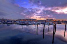 Yachts in early morning sunlight at Weymouth marina, Dorset Portland Dorset, Jurassic Coast, Photography Workshops, Yachts, Early Morning, Sunlight, New York Skyline, Landscape, City
