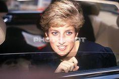 May 22, 1991: Princess Diana visits Archbishop's House, Westminster, London