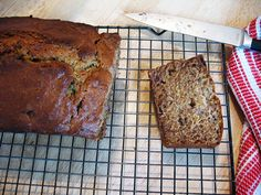 Brown Butter Banana Bread from Amateur Gourmet (it's adapted from a recipe that features candied ginger and chocolate chips in the bread ... have to try that, too!).