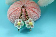 Shell Earrings Seashell Earrings Gifts for by TheSleepySeahorse
