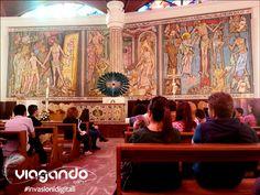 All'interno della Nuova Basilica con Fra Francesco, Guida Spirituale della nostra invasione #InvasioniDigitali