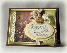 He Has Made Everything Beautiful by PickleTree - Cards and Paper Crafts at Splitcoaststampers