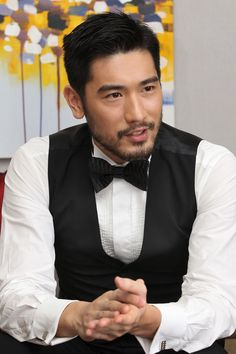 I don't think there is ever enough GODFREY GAO in this world. Handsome Asian Men, Hot Asian Men, Godfrey Gao, Asian Actors, Gorgeous Men, Cute Guys, Male Models, Character Inspiration, Sexy Men