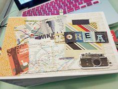 Travel mini album - Wiki Korea by qqsmap @Two Peas in a Bucket