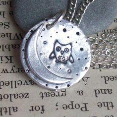 Silver Owl Necklace - Artisan Silver Jewellery & Keepsakes £28.00