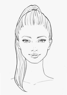 How To Draw A Beautiful Face, Step by Step, Drawing Guide