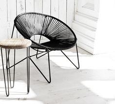 Eine Liebe für drinnen und draußen: Der Acapulco Stuhl. Hier entdecken und shoppen: http://sturbock.me/9M7