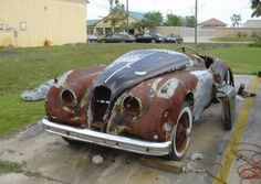 Jaguar – One Stop Classic Car News & Tips British Sports Cars, Exotic Sports Cars, Jaguar F Type, Jaguar Xk, Used Car Lots, Rust In Peace, Abandoned Cars, Abandoned Vehicles, Rusty Cars