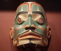 Native American Masks | First Nation Mask, via Flickr.