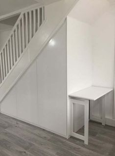 basement stairs Best Wardrobe Under The Stairs Bedrooms Ideas Shopping For D Staircase Storage, Stair Storage, Staircase Design, Flooring For Stairs, Basement Stairs, Basement Ideas, Understairs Cupboard Ideas, Cabinet Under Stairs, Deck Stair Lights