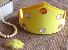 Sleeping Beauty Princess Craft Aurora's Crown | Crafts | Disney Family.com