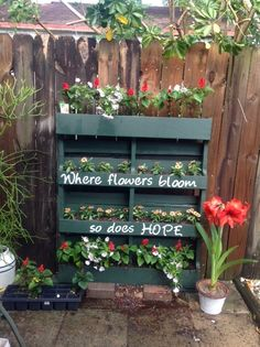 How to Turn a Shipping Pallet Into a Vertical Garden