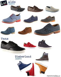 Lux vita et iocus: Zapatos para ellos / Shoes for our guys [SS2013]