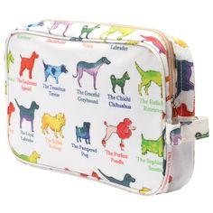 Dogs Traditional Washbag
