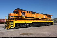 RailPictures.Net Photo: AZER 4005 Arizona Eastern Railway GE B40-8 (Dash 8-40B) at Globe, Arizona by Matthew Griffin