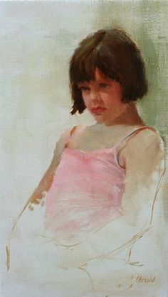 Grace by Carol Arnold Oil ~ 19 x 11