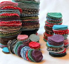 worn out wool clothing can renew others #DIY #nøstebarn