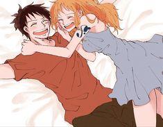 One Piece Crew, Nami One Piece, One Piece Manga, Mugiwara No Luffy, Luffy X Nami, Arnav Singh Raizada, One Piece Fanart, Outline Drawings, Akatsuki
