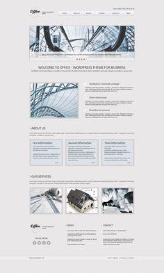 Office - wordpress theme by webvilla.deviantart.com
