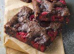 Brownie framboise chocolat