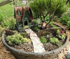 Best diy inspiration fairy garden ideas (53) #fairygardening