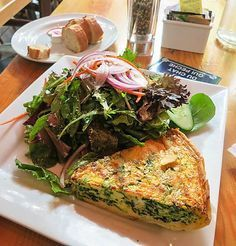 Crab and spinach quiche.Delicious crab quiche baked in oven.Very easy to make.
