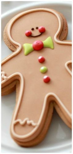 Gingerbread Cut-Out Cookie Recipe