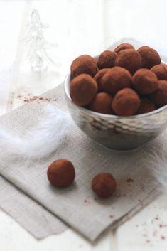 Les véritables truffes au chocolat de Noêl