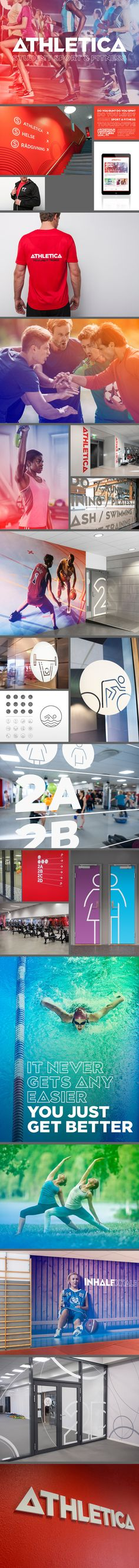 Fresh identity design for a student sport and fitness centre in Norway - SiO Design: Mission - Hege Homstvedt / Gary Swindell