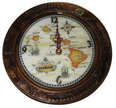Exotic Clocks   Plate Clock